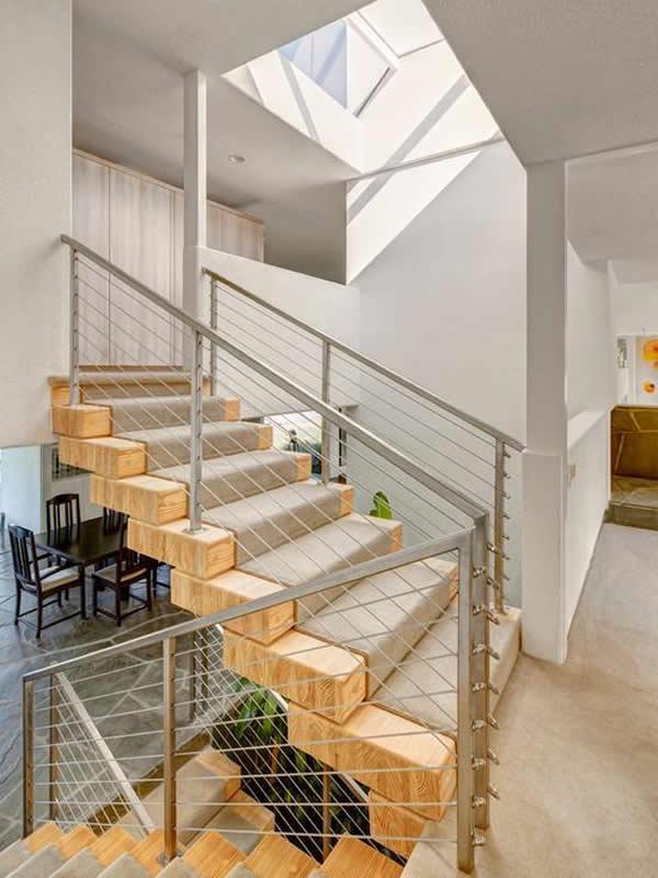 Escada de madeira 15