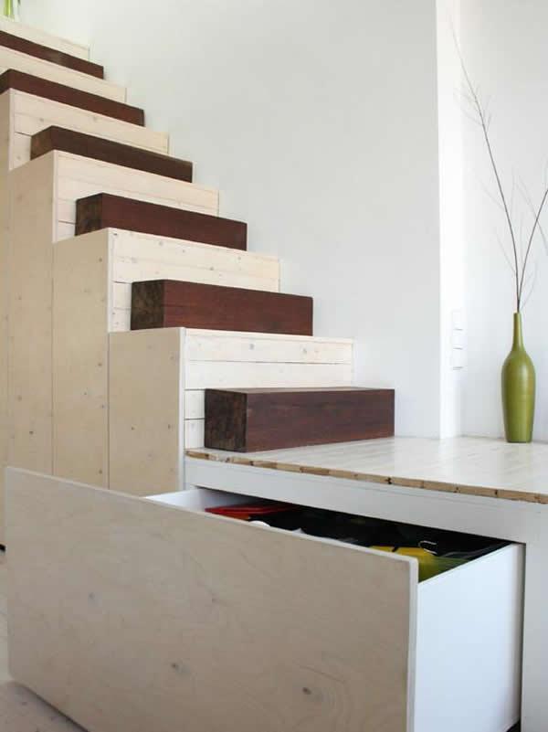 Escada de madeira 19