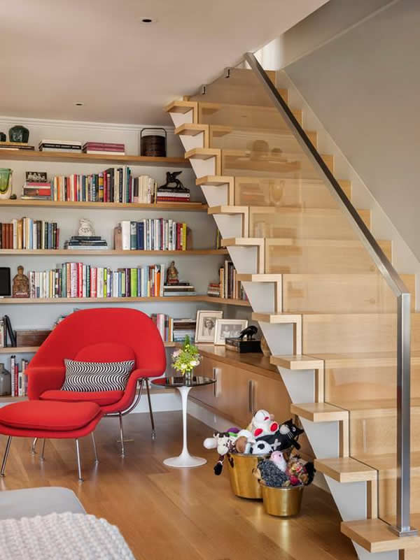 Escada de madeira 20