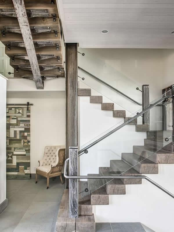 Escada de madeira 6