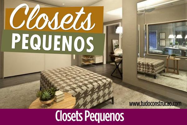 30 modelos de Closets Pequenos