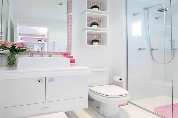 Banheiros Modernos: 87 modelos para chamar de seu