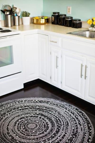 Tapete de crochêpara cozinha