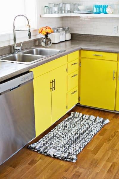 Tapete de crochêpara cozinha moderna