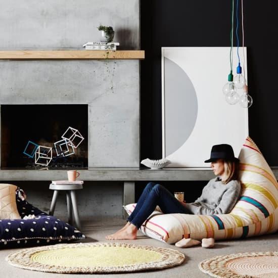 Tapete em crochê moderno e colorido!