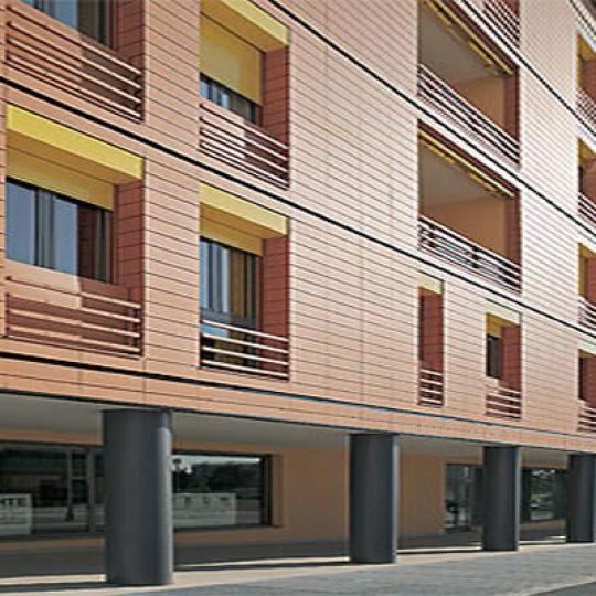 10 modelos de fachadas ventiladas: Como funciona?