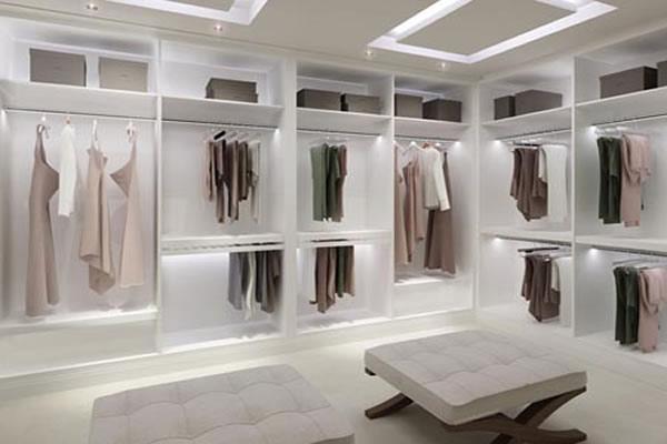 Closet de gesso 2018 15 modelos incr veis para inspirar for Modelos de zapateras para closets