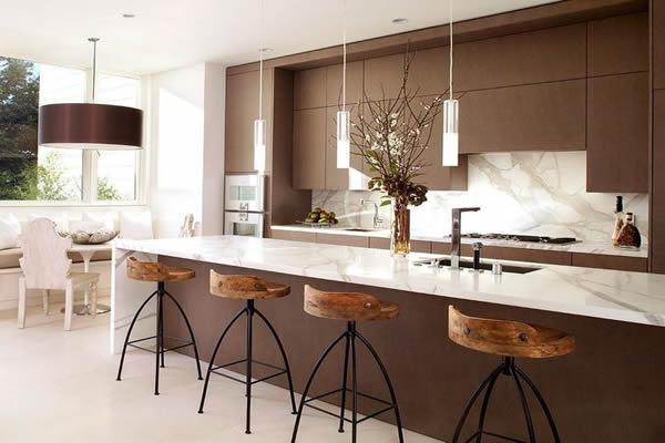 Cozinhas modernas 2018 75 projetos incr veis for Mobilia cuisine