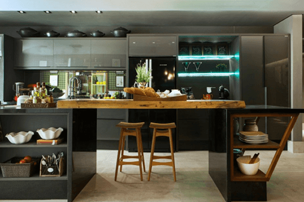 Cozinhas Modernas 2017: +75 projetos incríveis