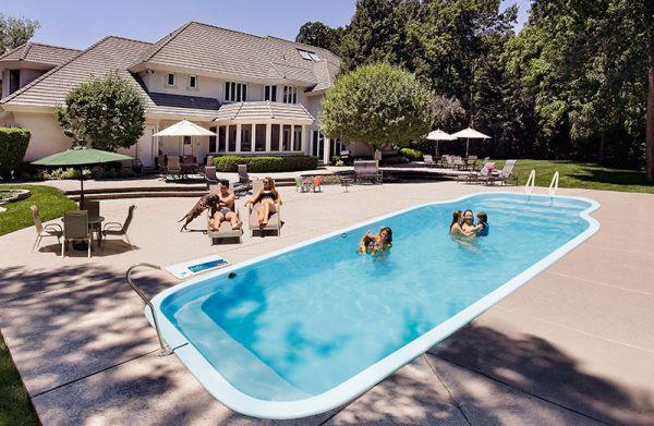 Medidas de una piscina para una casa finest finest for Piscina tubular pequena