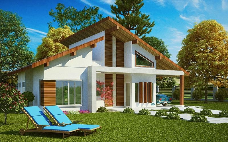 Projetos De Casas Simples 15 Modelos