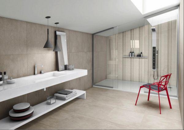 Banheiro pequeno e moderno preo de banheiro planejado for Pisos pequenos modernos