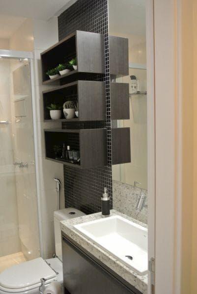 granito branco é ideal para compor com uma decoração preta