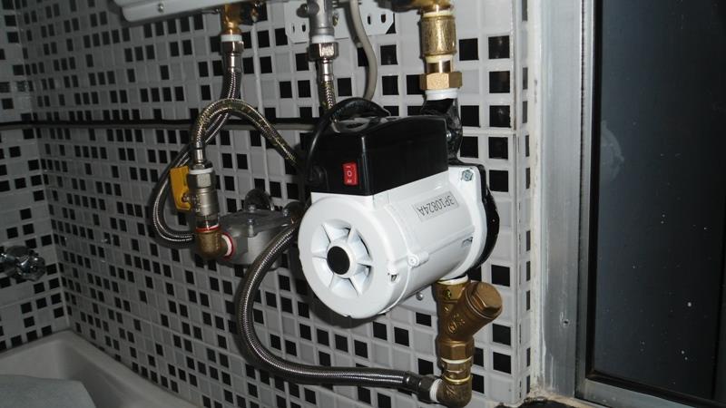 sistema de pressurizacao de agua
