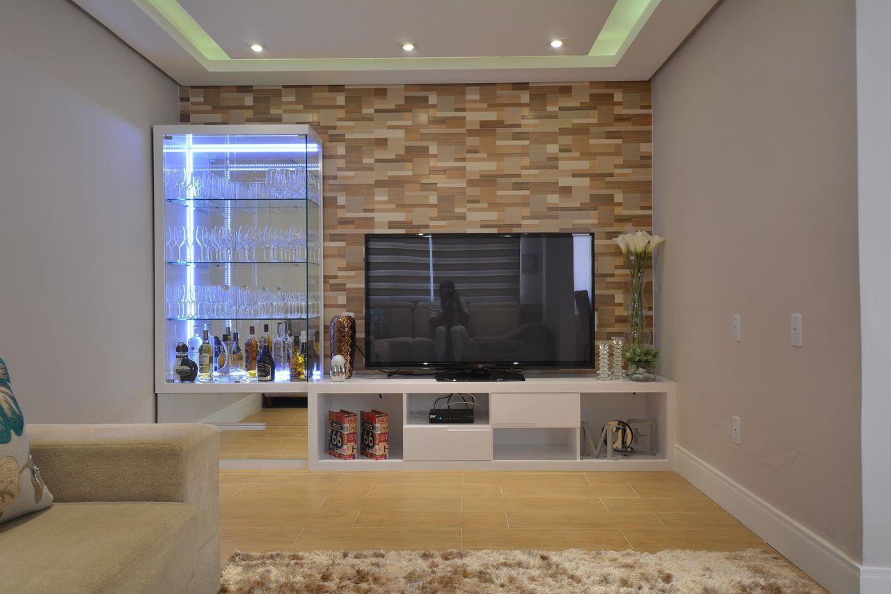 10 modelos de bar para casas for Modelos de salas de estar para casas