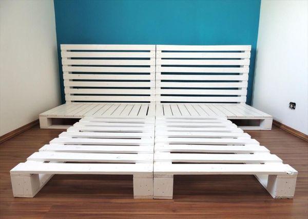 cama de pallet como fazer em casa