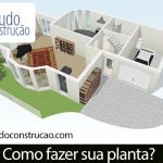 10 modelos de plantas de casas Grátis