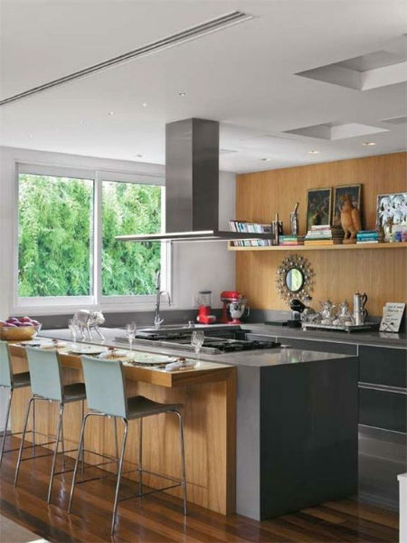 cozinha americana grande