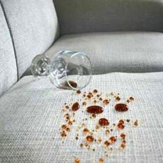 Sofá impermeabilizado