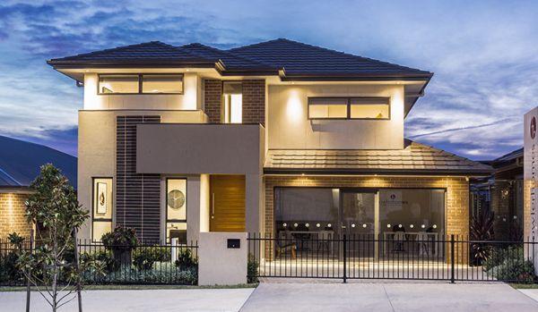 15 modelos de fachadas de casas de dois andares for Fachadas de casas modernas 1 pavimento