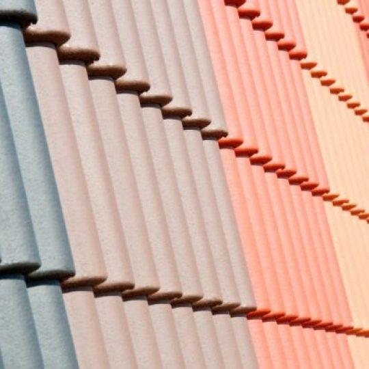 Telhas de Concreto cores