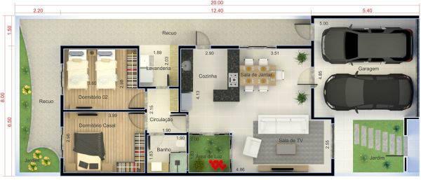 Projetos de casas simples 15 modelos para sua obra - Disenador de casas gratis ...