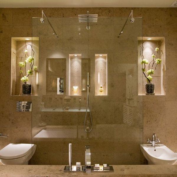 Modelos de Nichos para Banheiros Ambientes Decorados