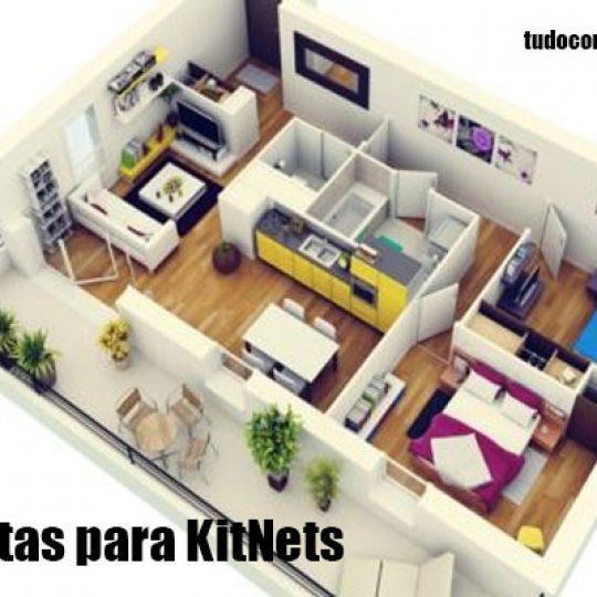 plantas para kitnets