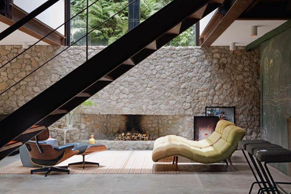 Sala com escada
