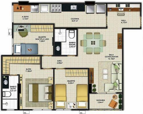 Projeto De Casas Simples 15 Modelos De Projeto Para Sua Obra