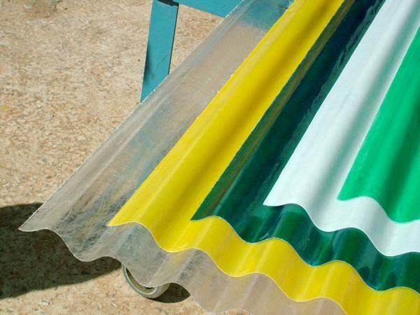 Telhas Plásticas de PVC