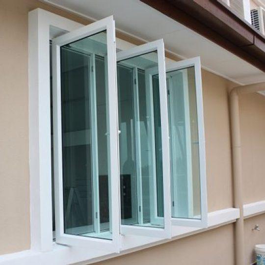 como pintar janelas de alumínio