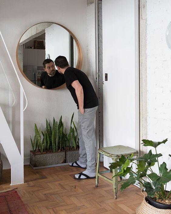 como ampliar ambientes com espelhos