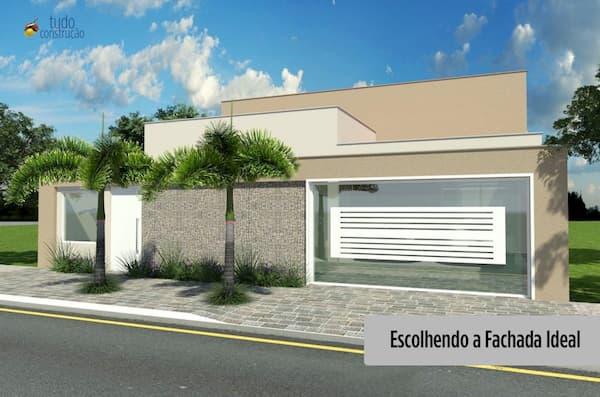 fachada ideal para cada casa