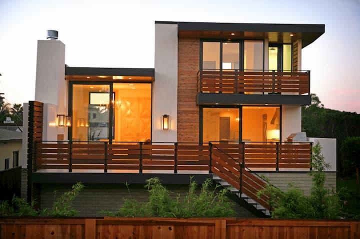 muros de de madeira para casa