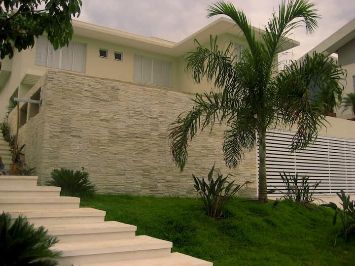 muros de pedras para casa moderna