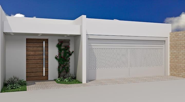 muros simples para casa