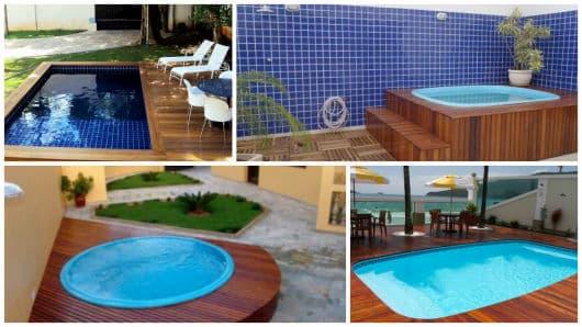 piscina pequena para casa