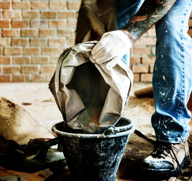 como fazer massa de concreto