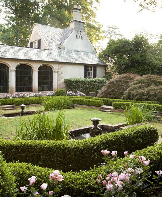 modelos de jardins residenciais