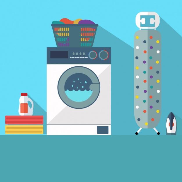 como lavar máquina de lavar roupas