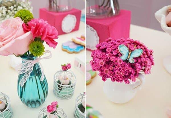 flores para festa de aniversário