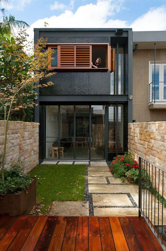 tendências de fachadas de casas para 2020