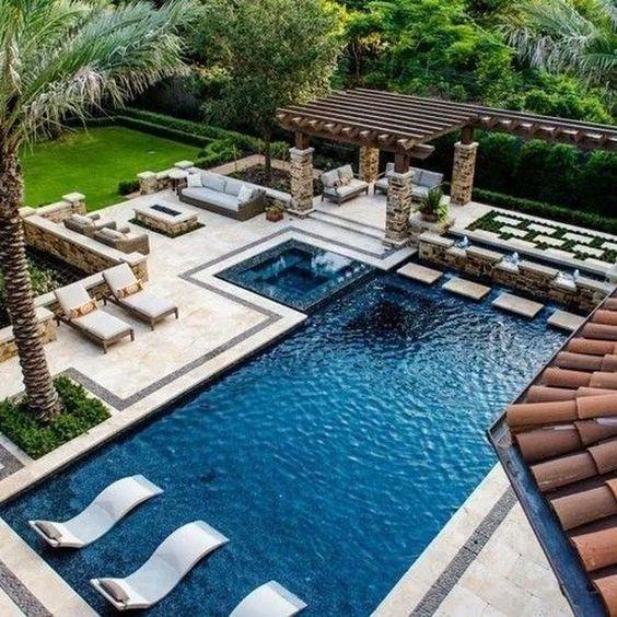 projetos de piscinas grandes