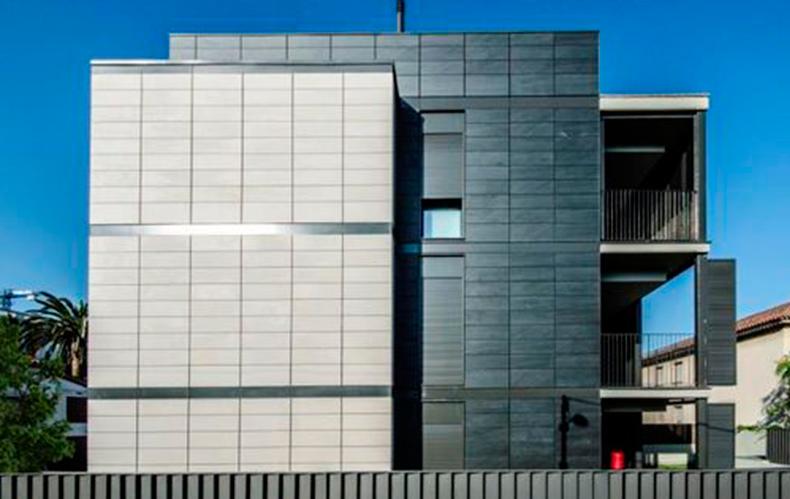 Placas cimentícias para fachada