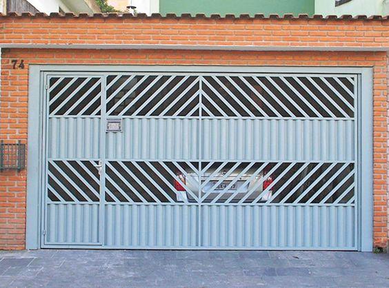 portão de alumínio
