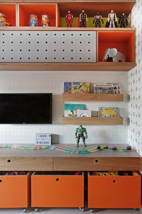 como fazer uma brinquedoteca em casa