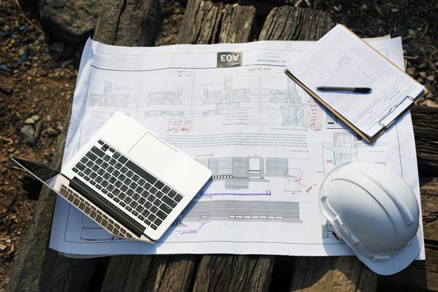 fundação da obra
