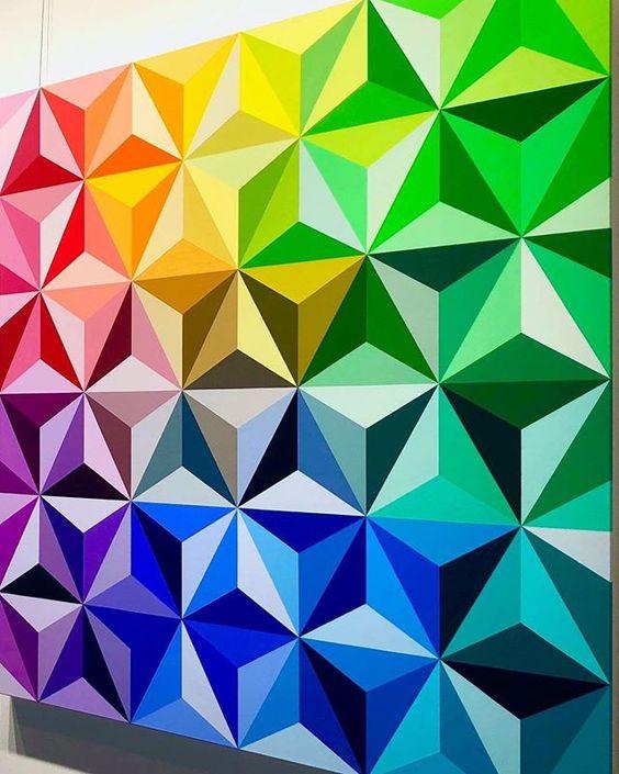 pintura efeito 3d