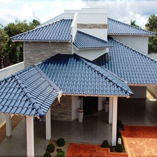 como instalar telhado colonial